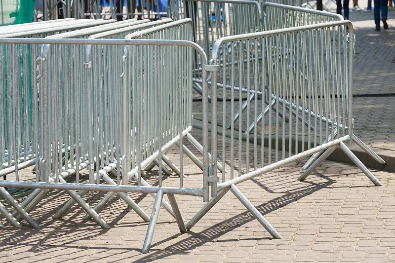 barriere metallkique chantier